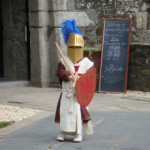 Young knight at Enniscorthy Castle