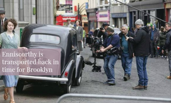 The Brooklyn filmset in Enniscorthy Wexford